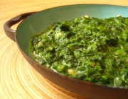 My Super Low Calorie Simple Savory Spinach